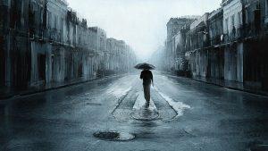 A kép jól szemlélteti egy depressziós beteg lelkivilágát...